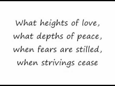In Christ Alone - Adrienne Liesching {Lyrics}