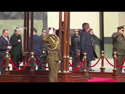 Jordan | King Abdullah receives President el-Sisi in Amman