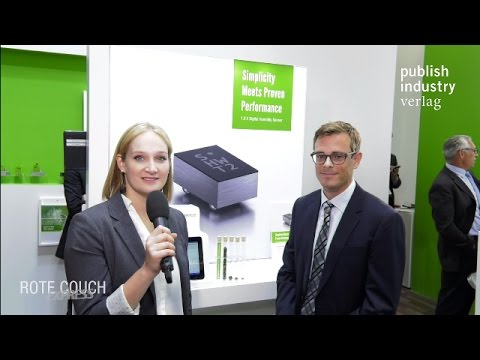 Sensirion @electronica 2016: Interview with Mr.Vincent Hess about Sensirion's Humidity Sensor SHTW2