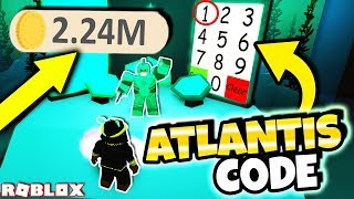 NEW SECRET ATLANTIS POWER SIMULATOR CODE! *TIDE MASTER* (Roblox Power Simulator Atlantis Update)