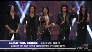 Black Veil Brides win Album of the Year | APMAS 2015