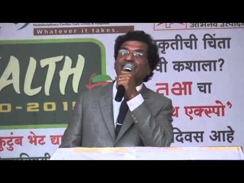 Mumbai's Best Homoeopath speaking at Tarun Bharat's Health Expo