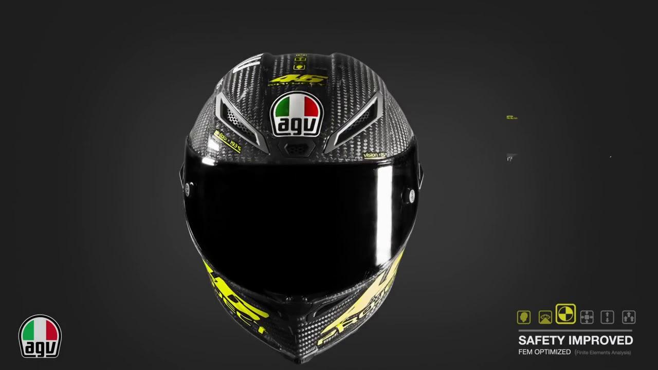 Agv Pista Gp R Project 46 Carbon Helmet Youtube