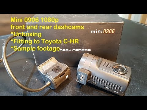 Mini 0906 - 1080p Front And Rear Dashcams