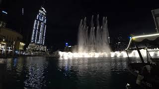 Фонтан дубай красивая арабская музыка ОАЭ Эмираты