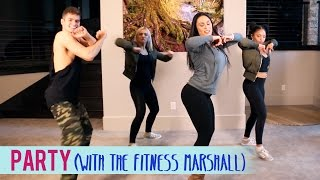 Chris Brown Party ft. Gucci Mane, Usher (feat. The Fitness Marshall) | Dance Fitness with Jessica