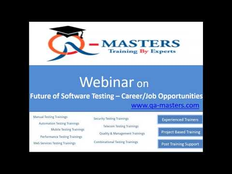 Future Of Software Testing   Job Career Opportunities