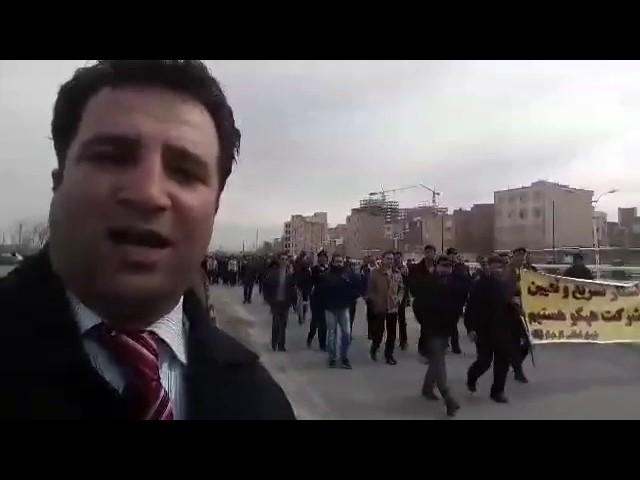 Protestations ouvrières en Iran
