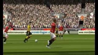 FIFA 2005 / MANCHESTER UNITED vs LIVERPOOL 2-1 / PC GAMEPLAY