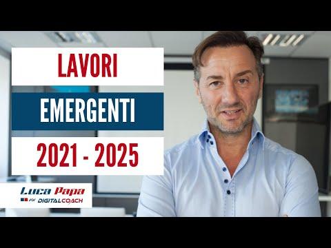 Lavori emergenti nel 2020 - 2025