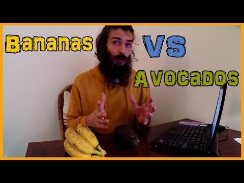 SATIATION ON A HIGH CARB FRUIT DIET: BANANAS VS AVOCADOS