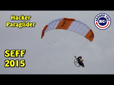 Hacker Powered Paraglider by Jason Cole From RC Groups SEFF 2015: Around Tuit RC