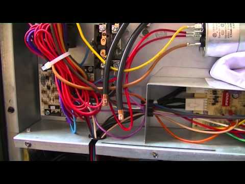 hvac training package unit single point wiring youtube AC Capacitor Wiring Diagram