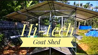 Hi-tech Goat Shed | Apna Goat Farms