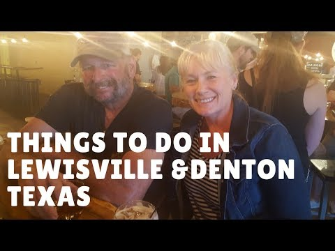 Things to do in Lewisville, Denton County Texas Ep. 24 full time rv living