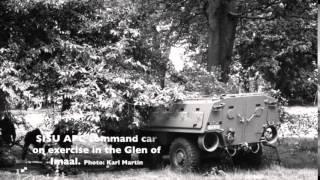 Irish Army SISU XA-180 6x6 APC in use