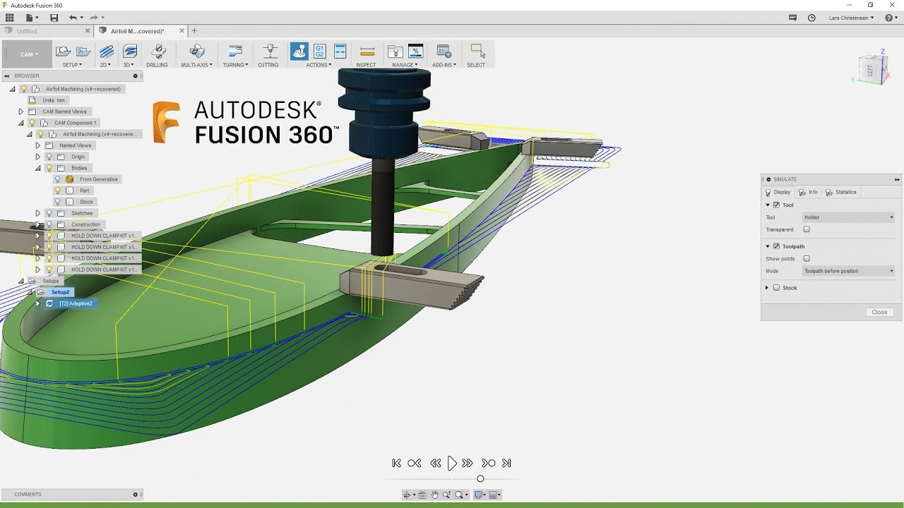 autodesk fusion 360 machining
