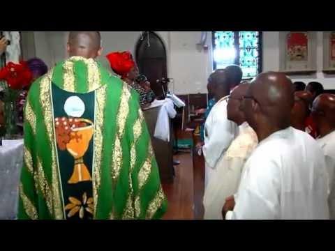 Nigerian Catholic Women Boston celebrate Fathers Day