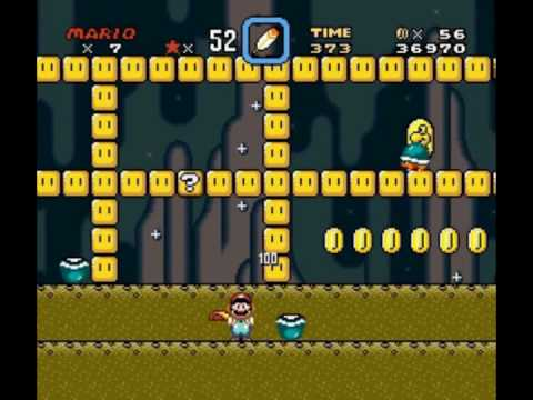 Super Mario World Vanilla Dome 1 Secret Exit Youtube