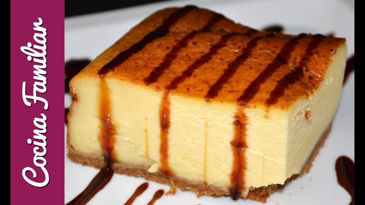 Tarta de queso con leche condensada paso a paso postres - Postres con queso de untar ...