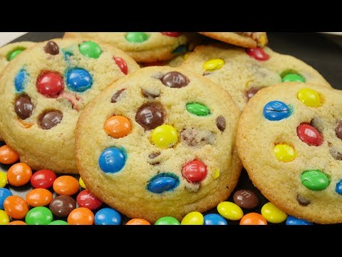 Chocolate Chip M&M Cookies | Chewy und super lecker!