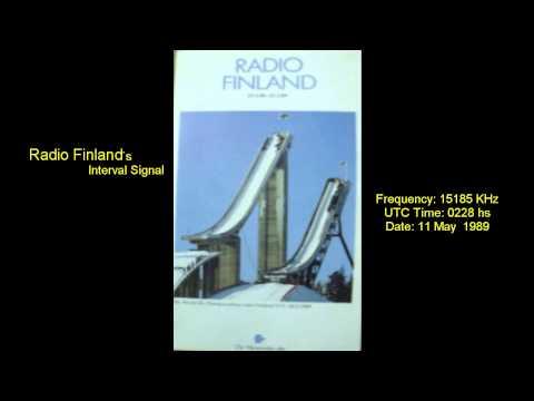 Radio Finland from Helsinki