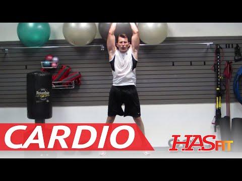 15 Minute Insanity Cardio Workout Exercises - HASfit's Cardiovascular Exercise - Insanity Workout