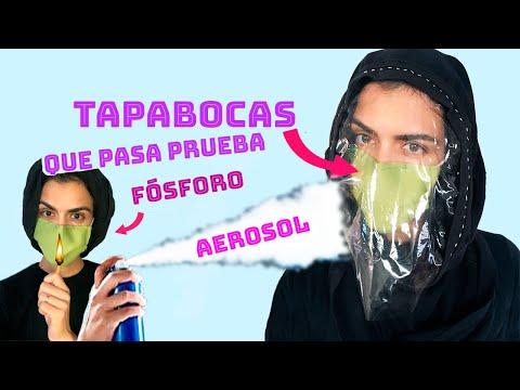 Tu Tapabocas - Cubre Bocas Casero Deben Pasar Dos Pruebas, Para Que Te Protejan Contra Coronavirus.