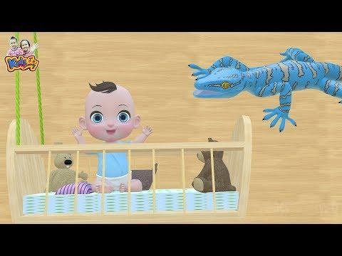 เพลงกล่อมเด็ก ตุ๊กแก - เพลงเด็กพี่นุ่น น้องภูมิ By KidsMeSong