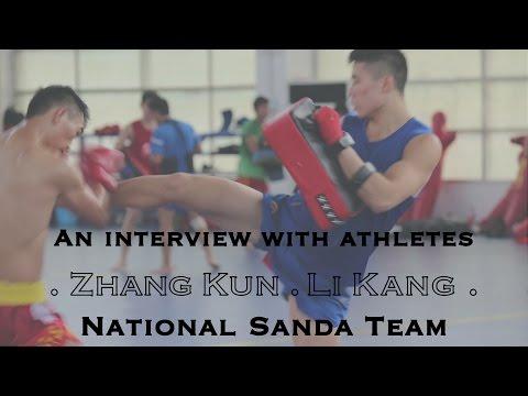 Interviews with China National Team Athletes, Zhang Kun and Li Kang