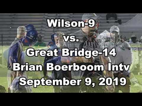 Recruit757Wilson V Great Bridge Brian Boerboom Intv