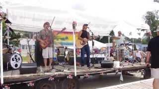 Chris Sacks Band performing Come Monday