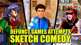 Defunct Games Attempts Sketch Comedy (Super Cut)