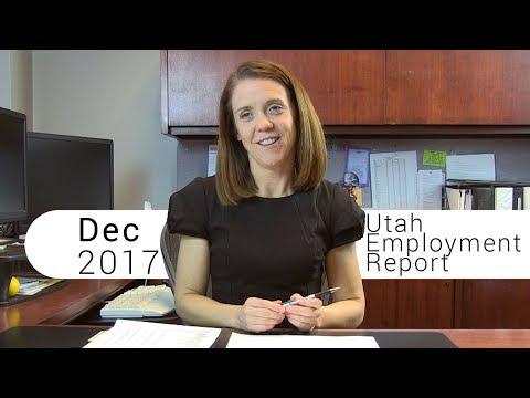 Utah Employment Report December 2017