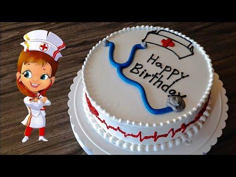 Simple Nurse Cake Tutorial