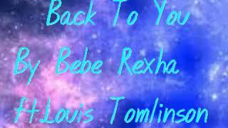 Louis Tomlison - Back To You (MP3 Audio) ft.Bebe Rexha , Digital Farm Animal