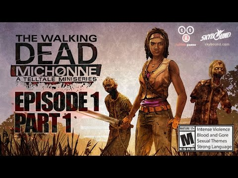 The Walking Dead: Michonne PC Gameplay Episode 1 Part 1 - In Too Deep: A First Look