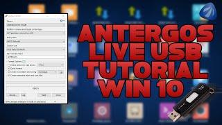 How to Make a Live Antergos USB on Windows 10 - Rufus (UEFI)