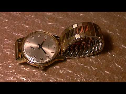 Complete service to a Vintage EVERITE Mechanical Watch
