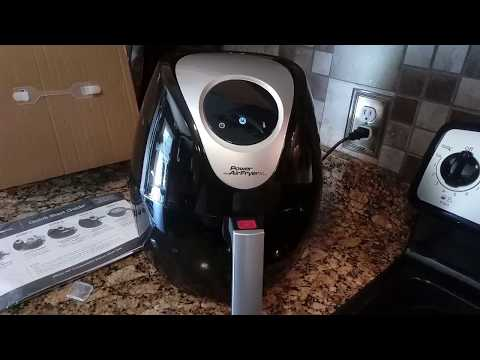 Power AirFryer XL unboxing and how to use
