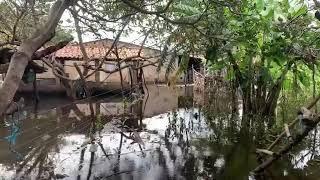 Lago das Cangalhas invade casas, desabriga famílias e comunidades ribeirinhas sofrem com o descaso
