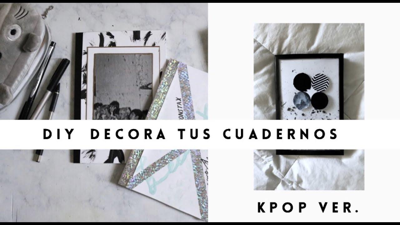 DIY Decora tus cuadernos ft DIY with Sofia  KPOP BTS