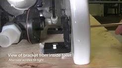 Royalflush Bravo & Espresso Toilet Mounting