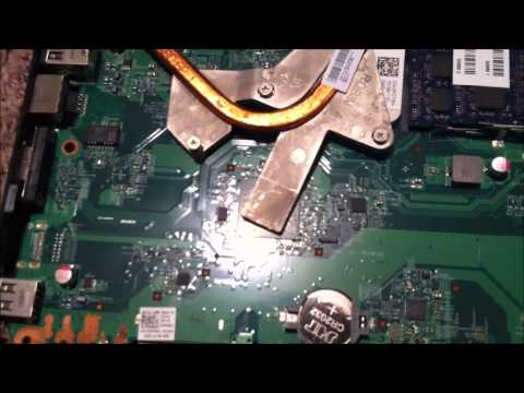 How to fix repair Dell Inspiron M5030 7 Beeps Blank Screen No screen when turned on