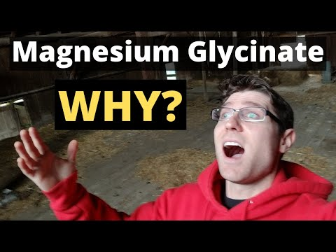 MAGNESIUM Glycinate Benefits 2020 (You Probably Need This)