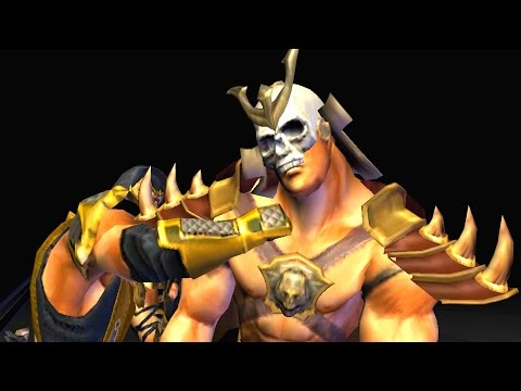 Mortal Kombat: Deception - All Fatalities on Shao Kahn Including Unchained Fatalities (1080p 60FPS)