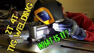 TFS: 2T 4T TIG Welding Operation Modes #TIGSimple