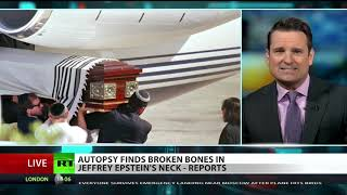 Jeffrey Epstein's broken bones raise questions
