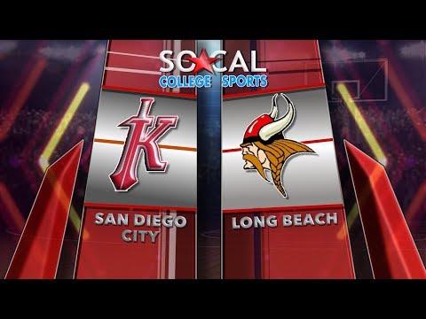 CCCAA Men's Basketball: Long Beach City at San Diego City - 2/24/18 - 7pm