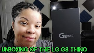 Unboxing and First Impression of the LG G8 ThinQ